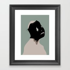 The Black Mask Collection 008 Framed Art Print