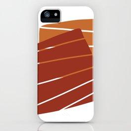 Red Orange iPhone Case