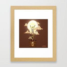 Aerostatic Bulb Framed Art Print