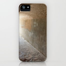 Pathway to the light iPhone Case
