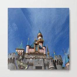 The Castle Photography Metal Print