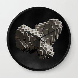 Shaping Identity Wall Clock