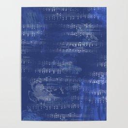 Sheet Music - Mixed Media Partiture #5 Poster