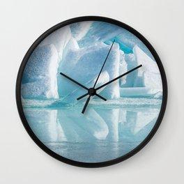 Snowy Kingdom Wall Clock