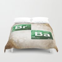 chemistry Duvet Covers featuring BrBa chemistry by Nxolab