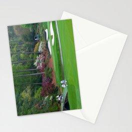 Golf's Amen Corner Augusta Georgia - Golfers on Bridge Stationery Cards
