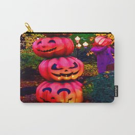 pumpkin stack colour Halloween Carry-All Pouch