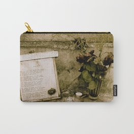 Les Yeux Grave  Carry-All Pouch