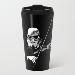 Dark Violinist Warrior Travel Mug