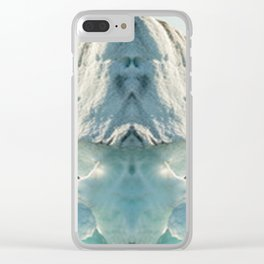 Snow Soldier Clear iPhone Case