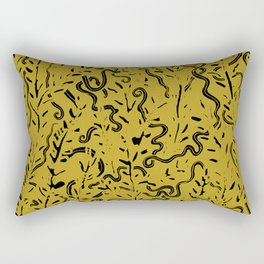 Ancient Snakes Rectangular Pillow