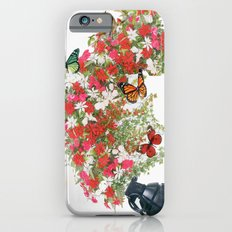 Make love not war - by Ashley Rose Standish Slim Case iPhone 6s