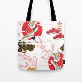 japan art Tote Bag