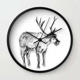 Deer Wall Clock