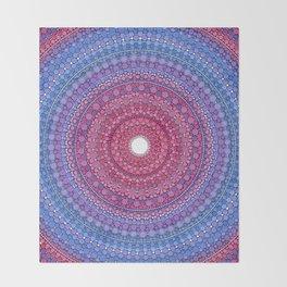 Keeping a Loving Heart Mandala Throw Blanket