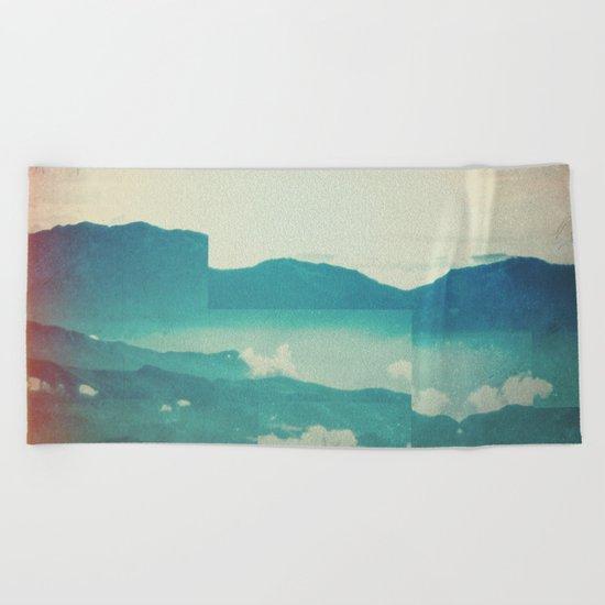 Fractions A18 Beach Towel