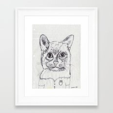 el nerdi Framed Art Print