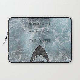 BJJ Motivational Quote Series 3/10 Laptop Sleeve