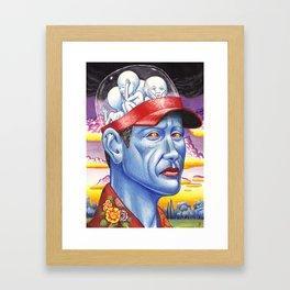 A Panoramic Hat Framed Art Print