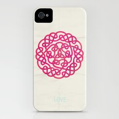 Love poster Slim Case iPhone (4, 4s)