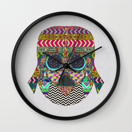 VADER GOT TIRED OF BLACK / makeover Wall Clock