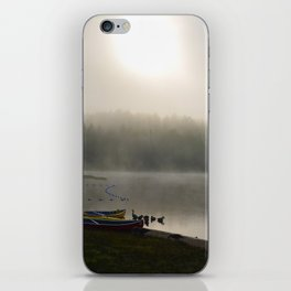 Misted Morning iPhone Skin
