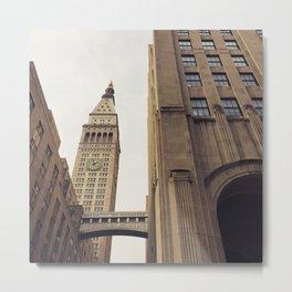 Clock Tower New York Metal Print