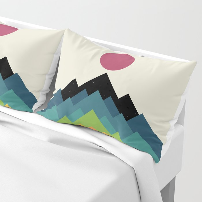 Life Is A Mountain Pillow Sham