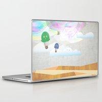 balloon Laptop & iPad Skins featuring balloon by avoid peril