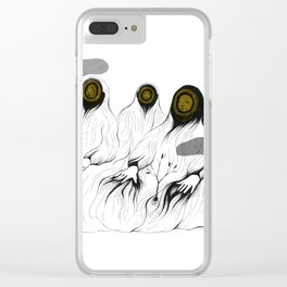 whos there - 3 Clear iPhone Case