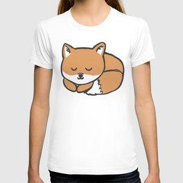 Sleeping Kawaii Fox T-shirt