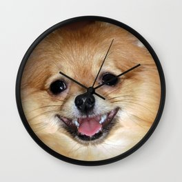 My joyful smile Wall Clock