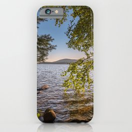 Secret Place By The Lake iPhone Case