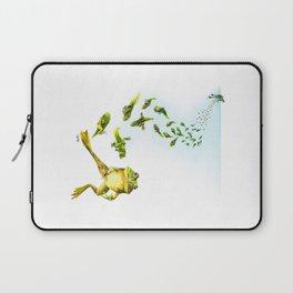 Frog Cycle Laptop Sleeve