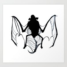 BAT!! Art Print