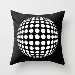 Polka Shere Throw Pillow