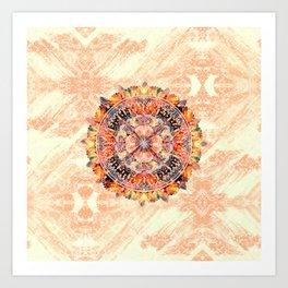 Chakra Mandala Art Print