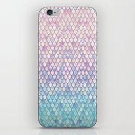 Spring Mermaid Scales iPhone Skin