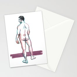 MAX, Nude Male by Frank-Joseph Stationery Cards