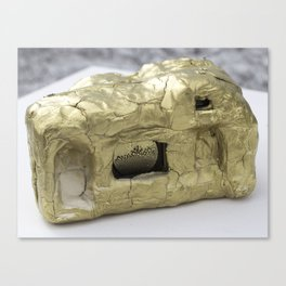 Gold Clay Camera, No. 2a Canvas Print
