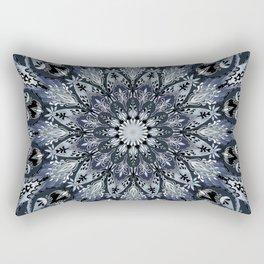 Bohemian Soul Night Mandala Rectangular Pillow