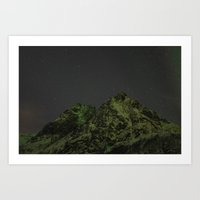 Norwegian mountains 3 Art Print