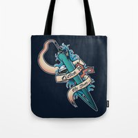 final fantasy Tote Bags featuring My Story [Final Fantasy] by Ruwah
