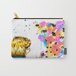bumblebees Carry-All Pouch