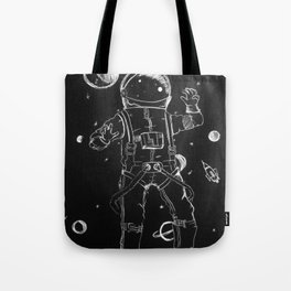 Exploration: Outer Space Tote Bag