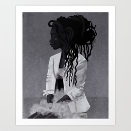 Dreadlocks Art Print