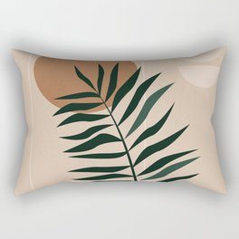 Minimalist Abstract 35 Rectangular Pillow