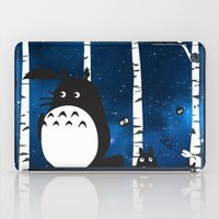 ashton irwin iPad Cases featuring walk in the woods by Vickn
