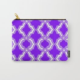 Grille No. 1 -- Indigo Carry-All Pouch