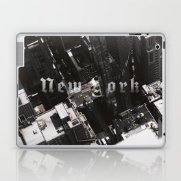 New York Top of The World Laptop & iPad Skin